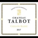 Chateau Talbot, Caillou Bordeaux Blanc 2018