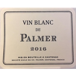 Wine Chateau Palmer Vin Blanc de Palmer 2016