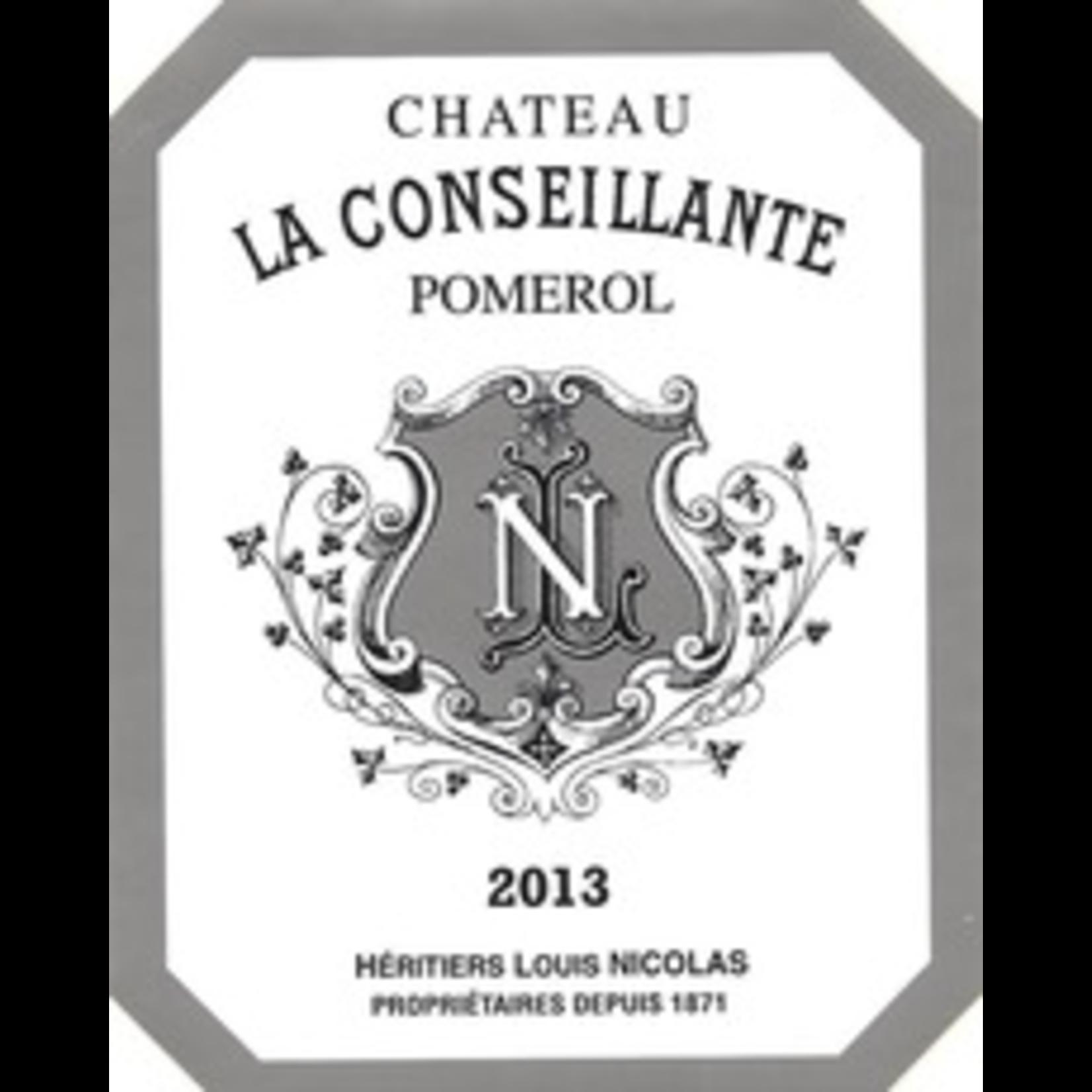 Wine Chateau La Conseillante Pomerol 2012