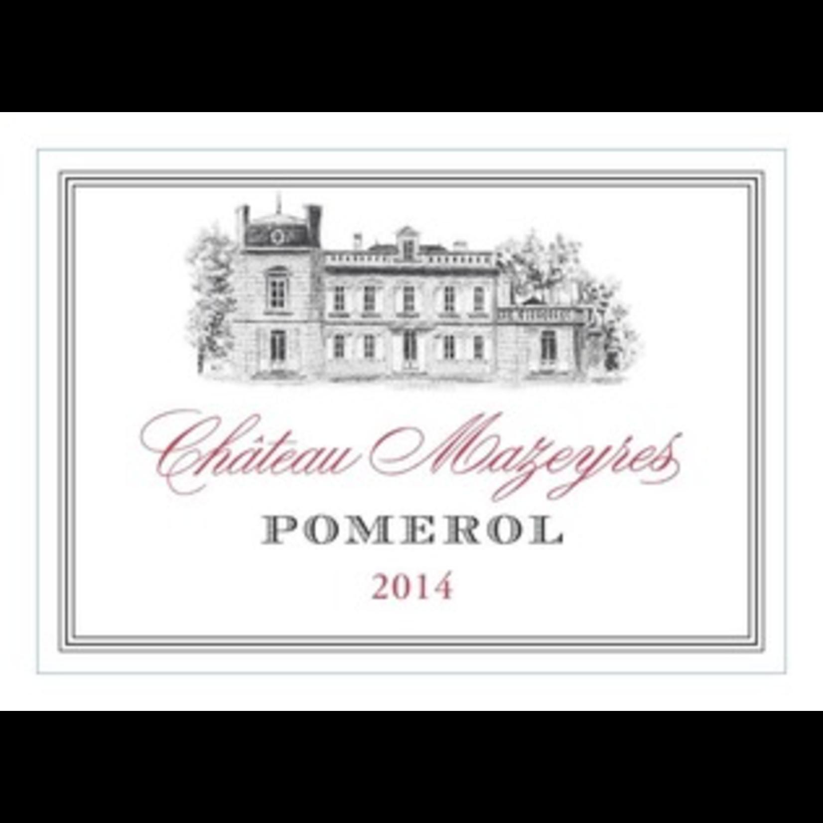 Wine Chateau Mazeyres Pomerol  2014