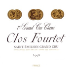 Wine Clos Fourtet Saint Emilion 1998