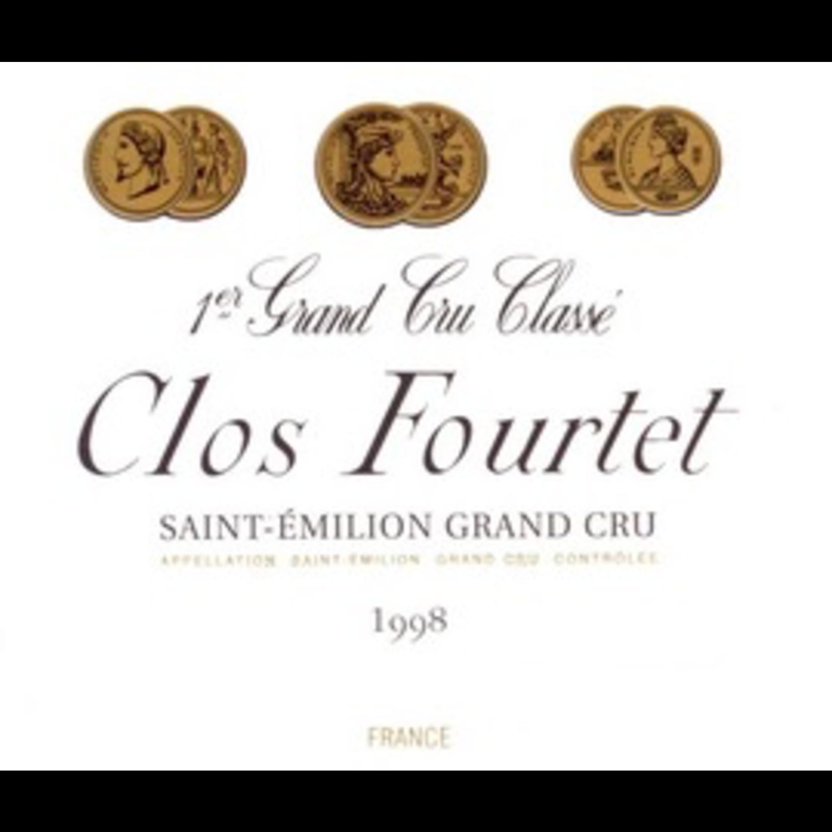 Clos Fourtet Saint Emilion 1998