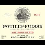 Domaine du Roc des Boutires Pouilly Fuisse Aux Bouthieres 2018