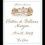 Chateau de Bellevue Morgon Le Clos 2010