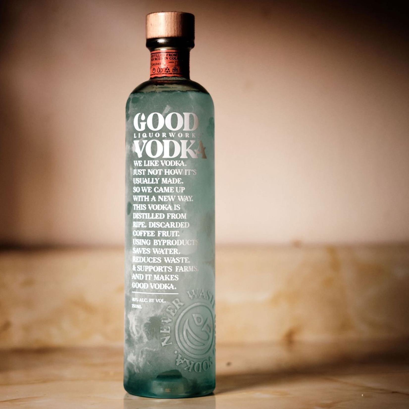 Spirits Good Liquorworks Vodka