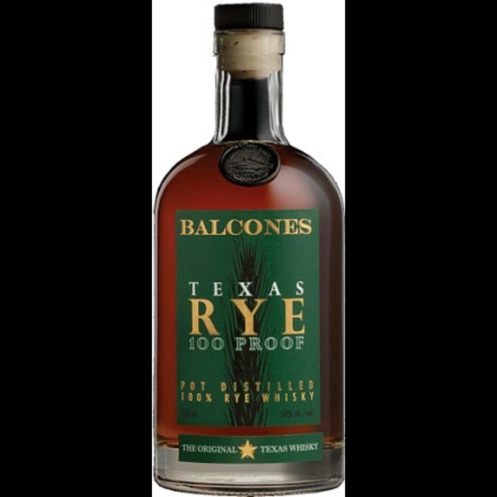 Balcones Whisky Texas Rye 100 Proof