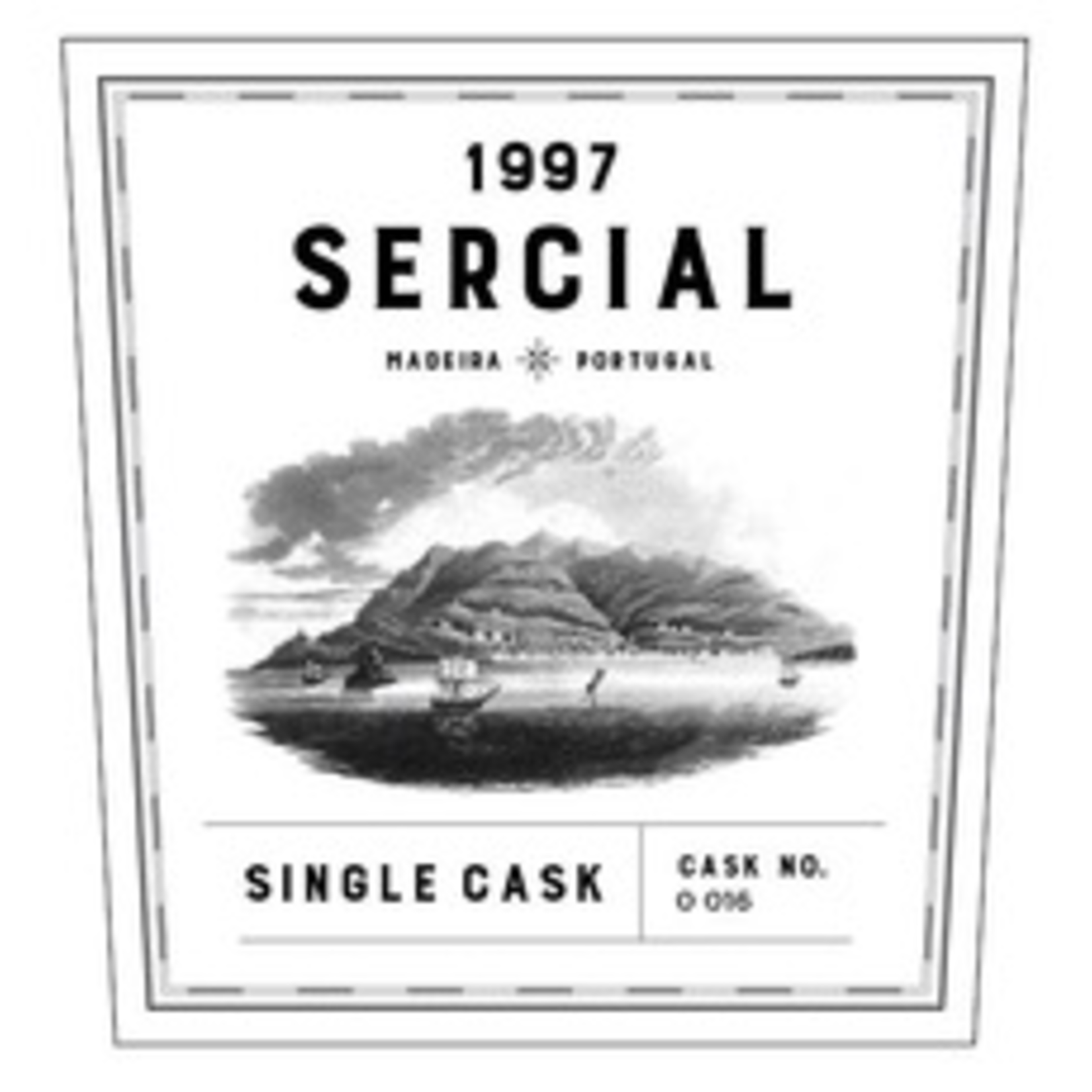Wine Broadbent Single Cask Sercial Madeira Cask No 017 1997 500ml
