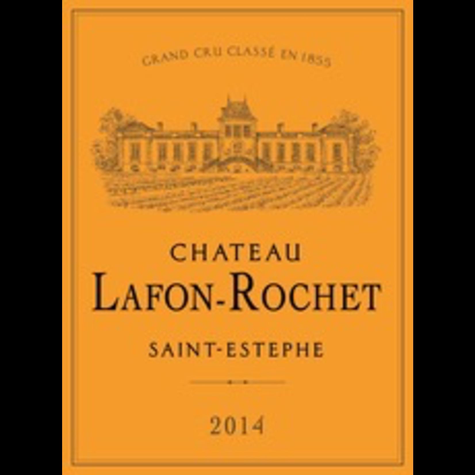 Wine Chateau Lafon Rochet Saint Estephe 2014