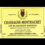 Wine Domaine Hubert Bouzereau Gruere & Filles Chassagne Montrachet Les Blanchots Dessous 2018