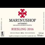 Wine Marinushof Mitterberg Riesling 2018