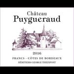 Chateau Puygueraud Francs Cotes de Bordeaux 2016