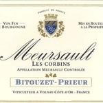 Bitouzet Prieur Meursault Les Corbins 2017
