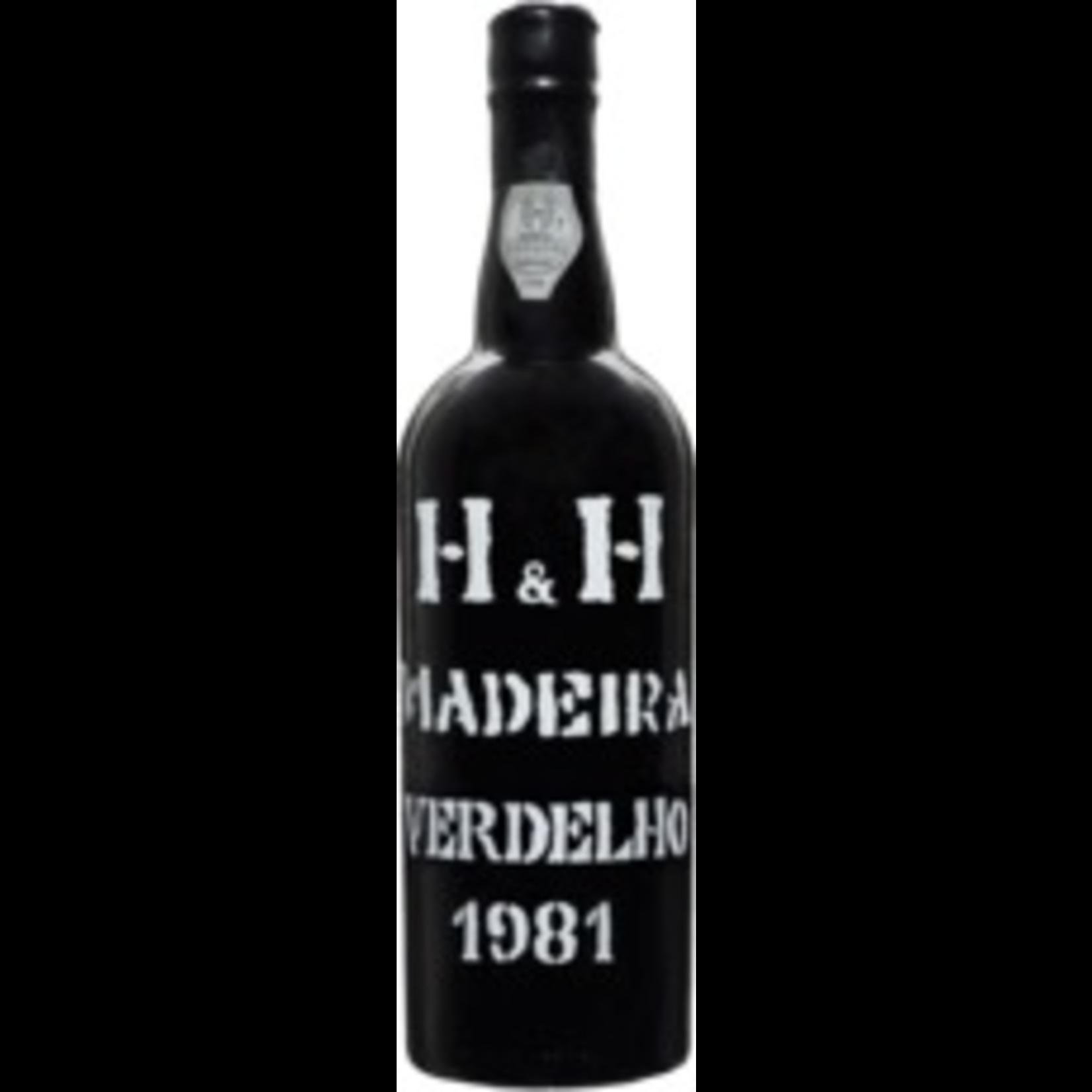 Wine Henriques and Henriques, 1981 Madeira Verdelho