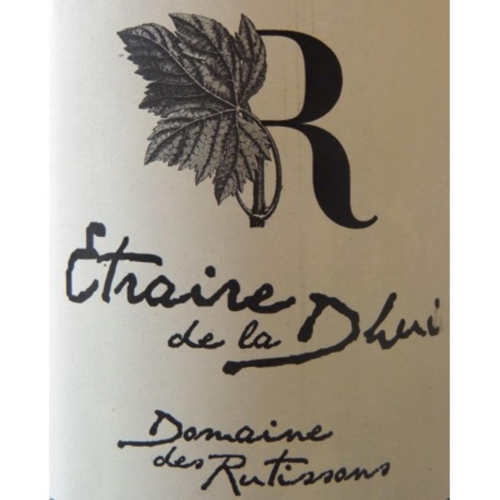 Wine Domaine des Rutissons Isere Coteaux du Gresivaudan Etraire de la Dhuy 2019