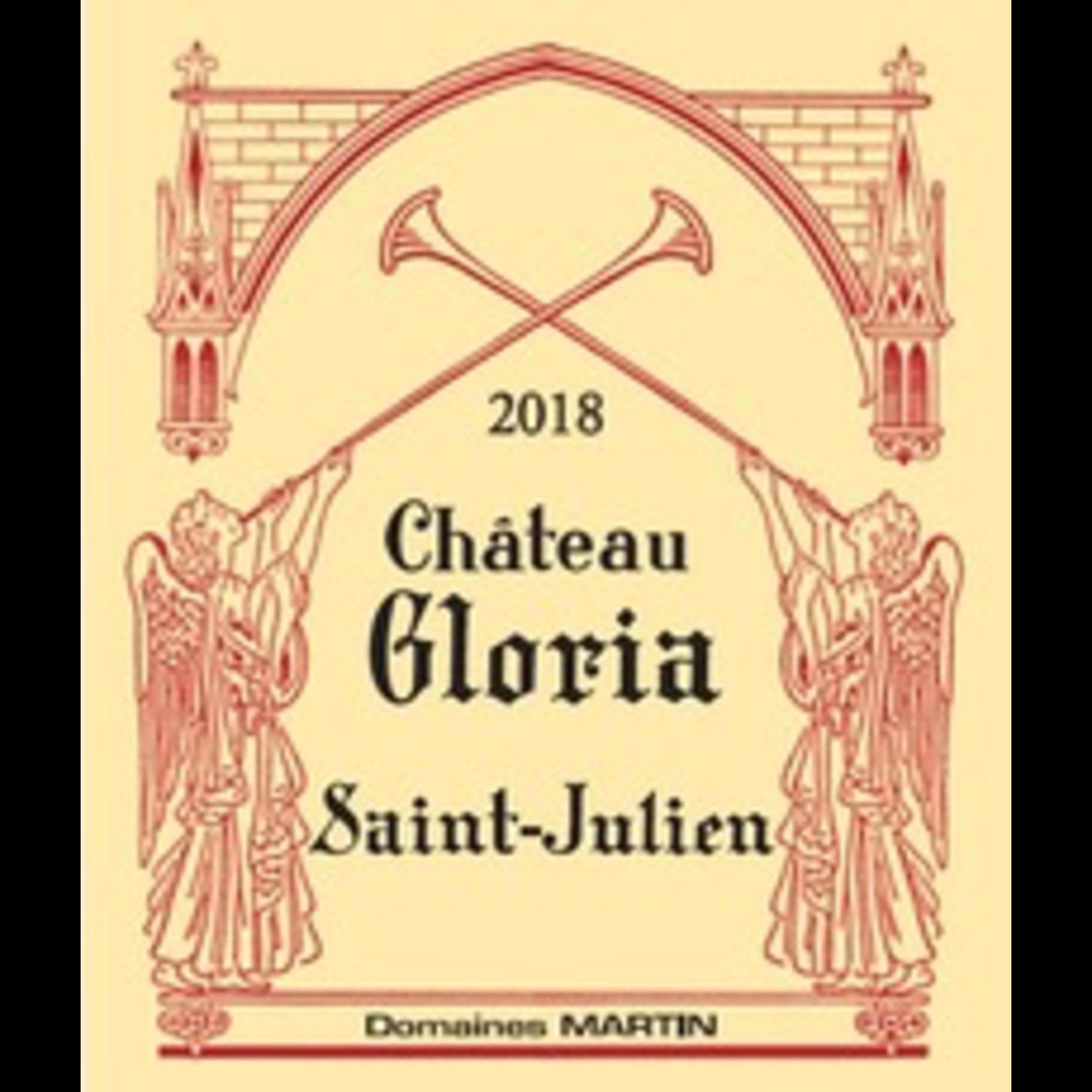 Wine Chateau Gloria Saint Julien 2018