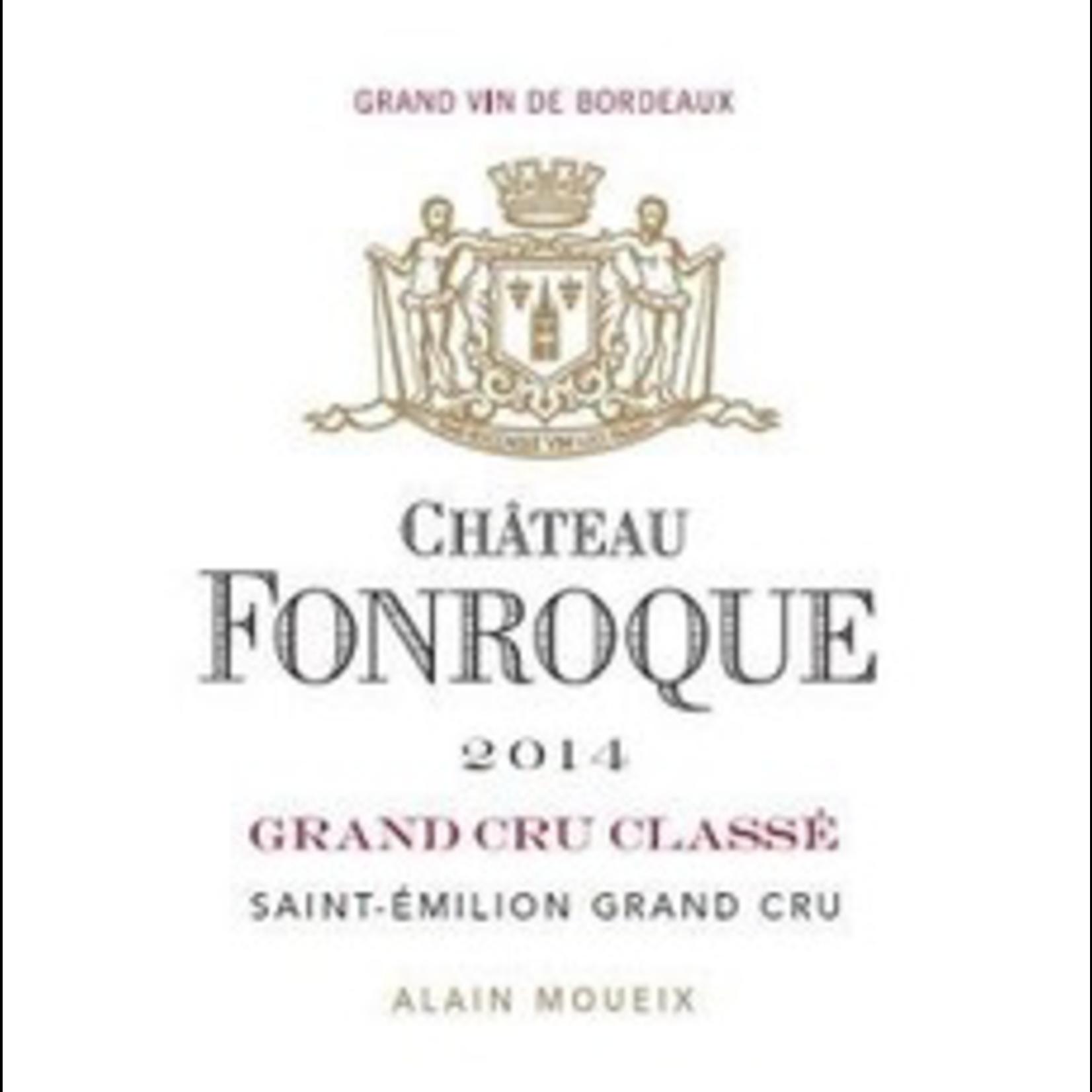 Wine Chateau Fonroque, Saint-Emilion 2016