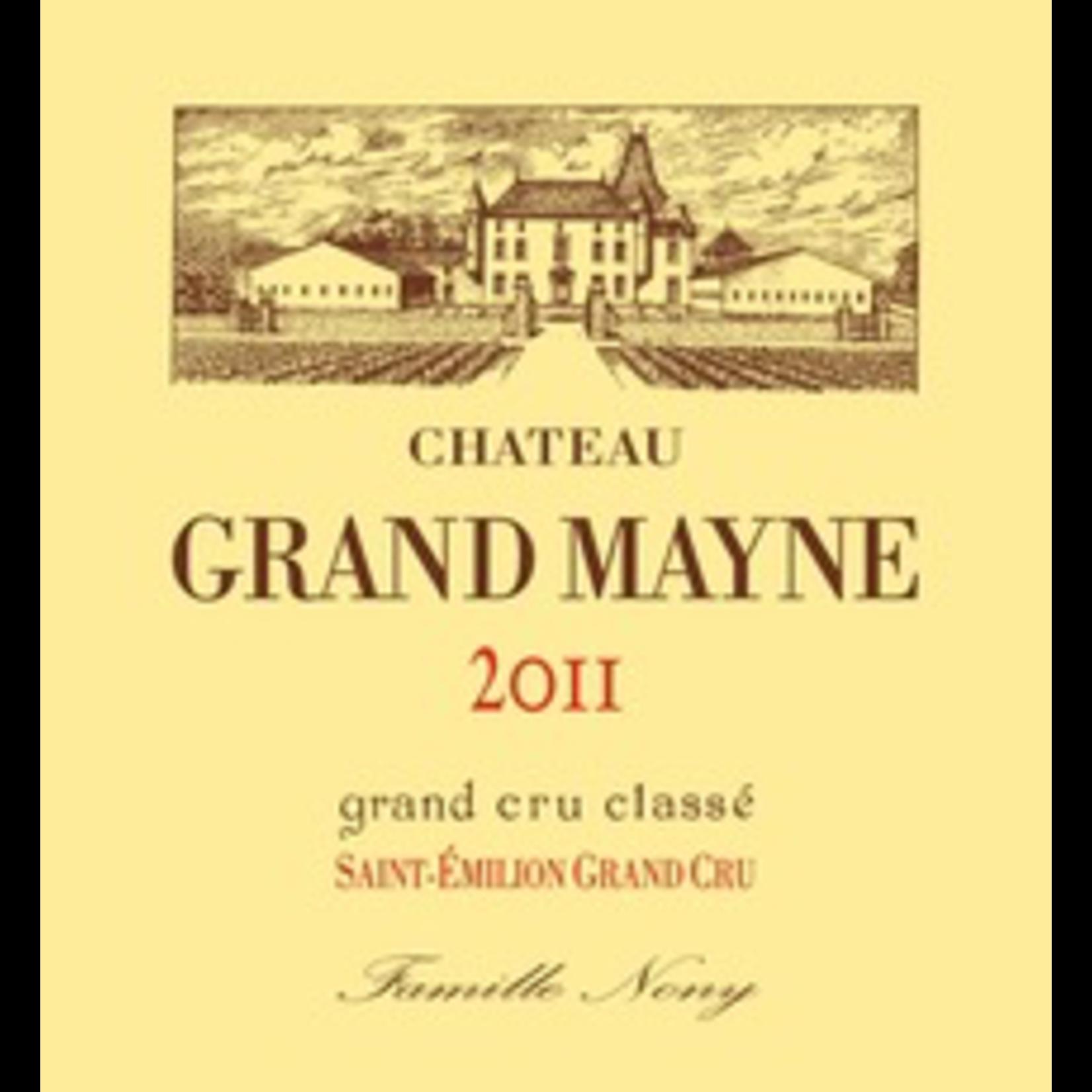 Chateau Grand Mayne, Saint-Emilion 2011