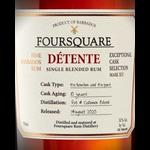 Spirits Four Square Detente 10 Year Single Blended Rum