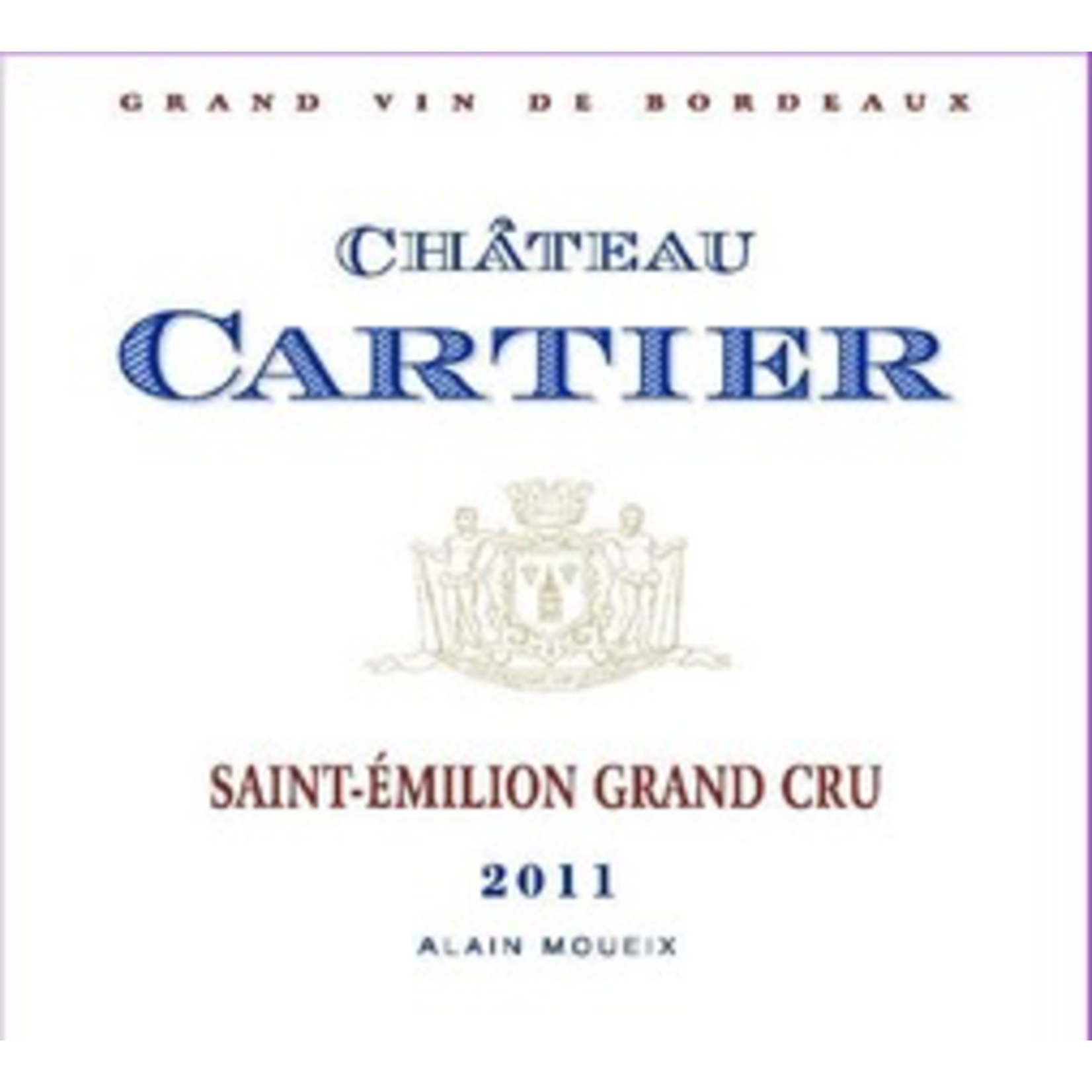 Wine Chateau Cartier 2017