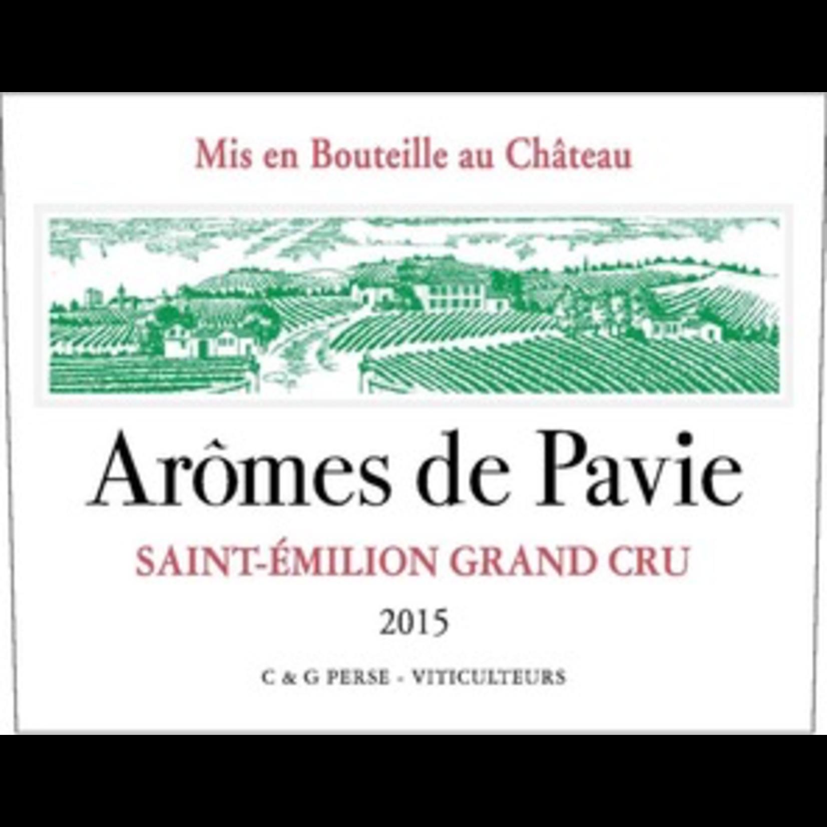 Wine Chateau Aromes de Pavie, Saint-Emilion Grand Cru 2016 375ml