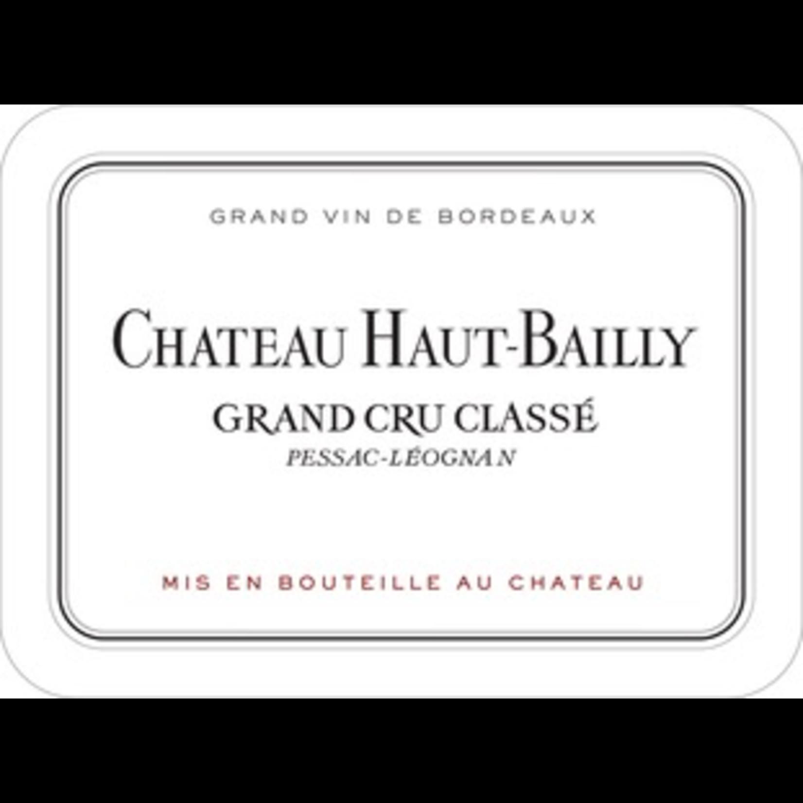 Wine Chateau Haut Bailly, Pessac-Leognan Grand Cru Classe 2004
