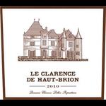 Wine Le Clarence de Haut-Brion Pessac-Leognan 2010