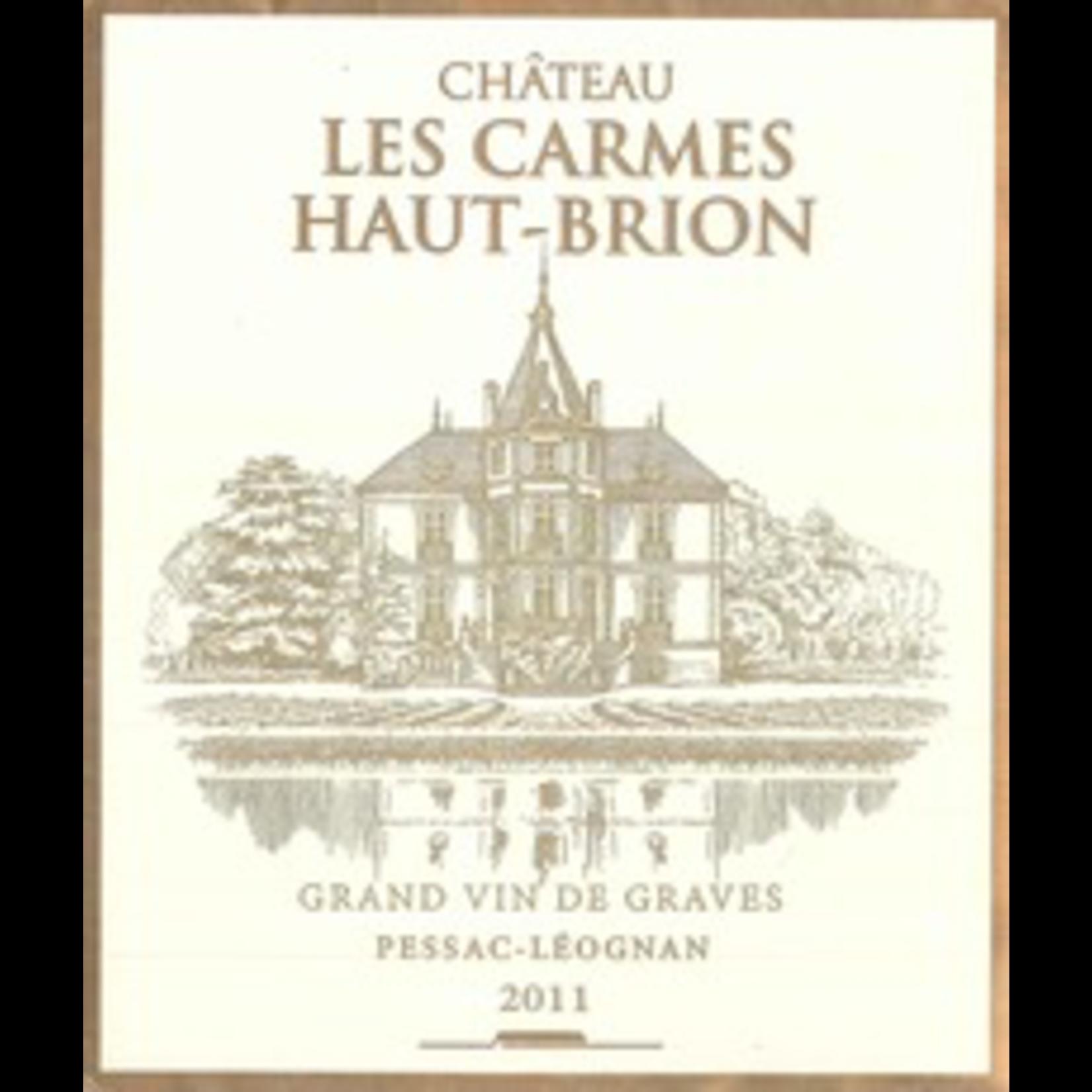 Wine Chateau Les Carmes Haut Brion 2011