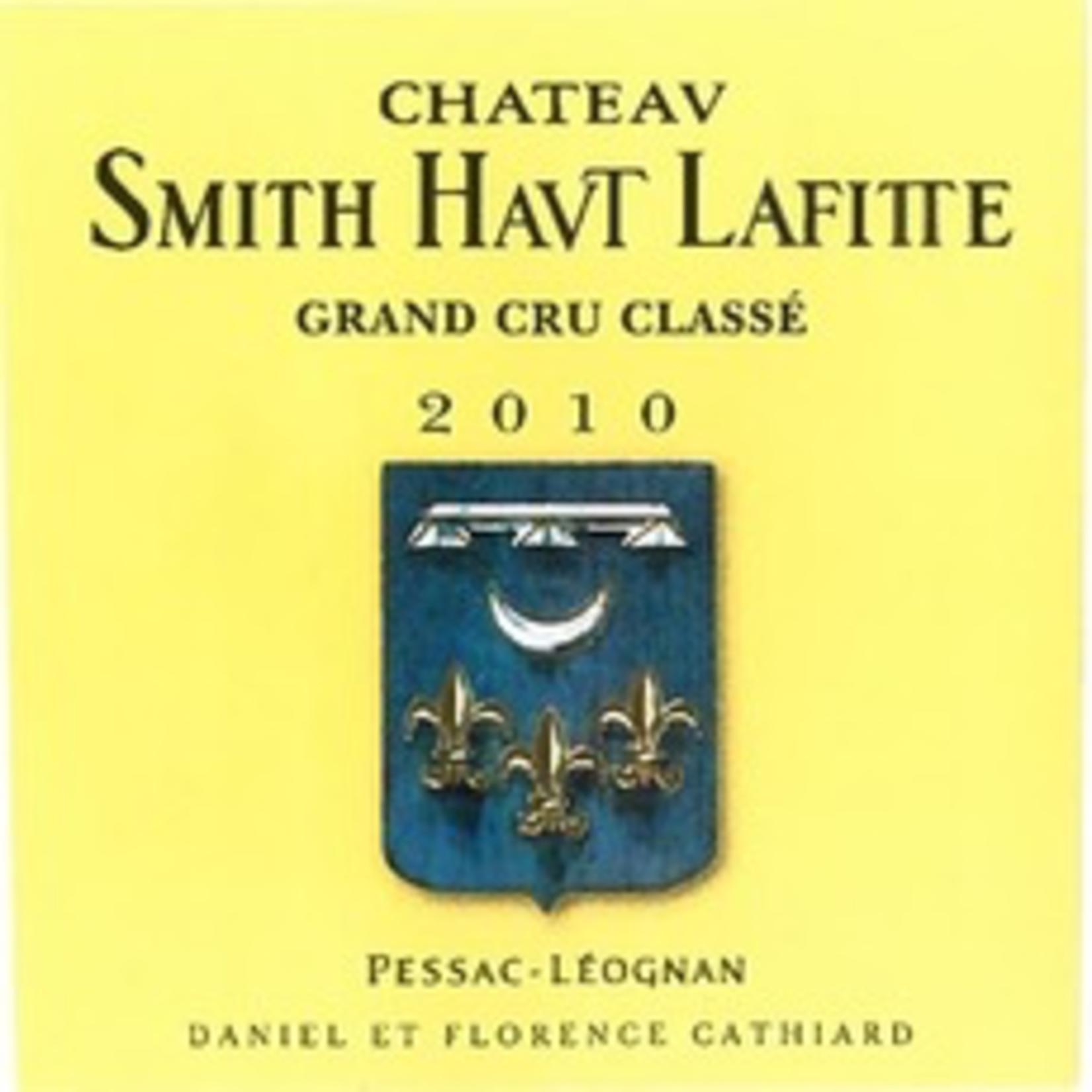 Wine Chateau Smith Haut Lafitte 2010
