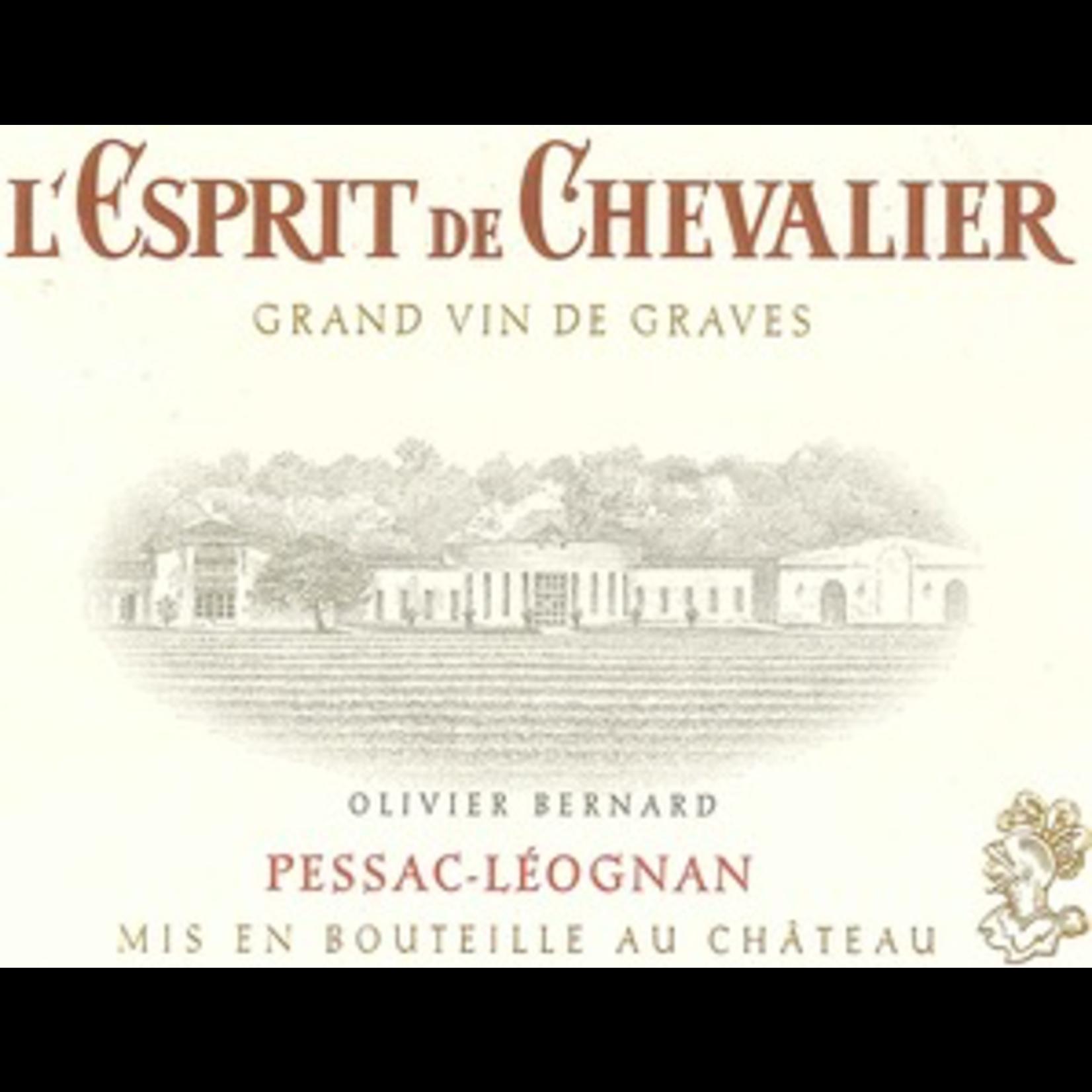 Wine L'Esprit de Chevalier Rouge 2014