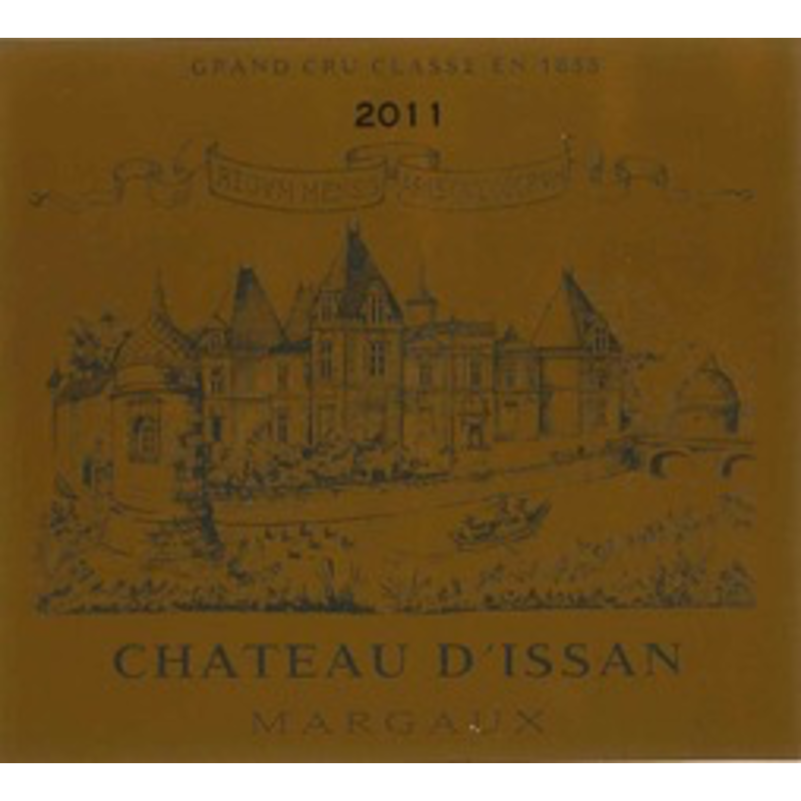 Wine Chateau d'Issan Margaux 2011