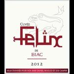 Wine Cuvee Felix de Biac Cadillac Cotes de Bordeaux 2016