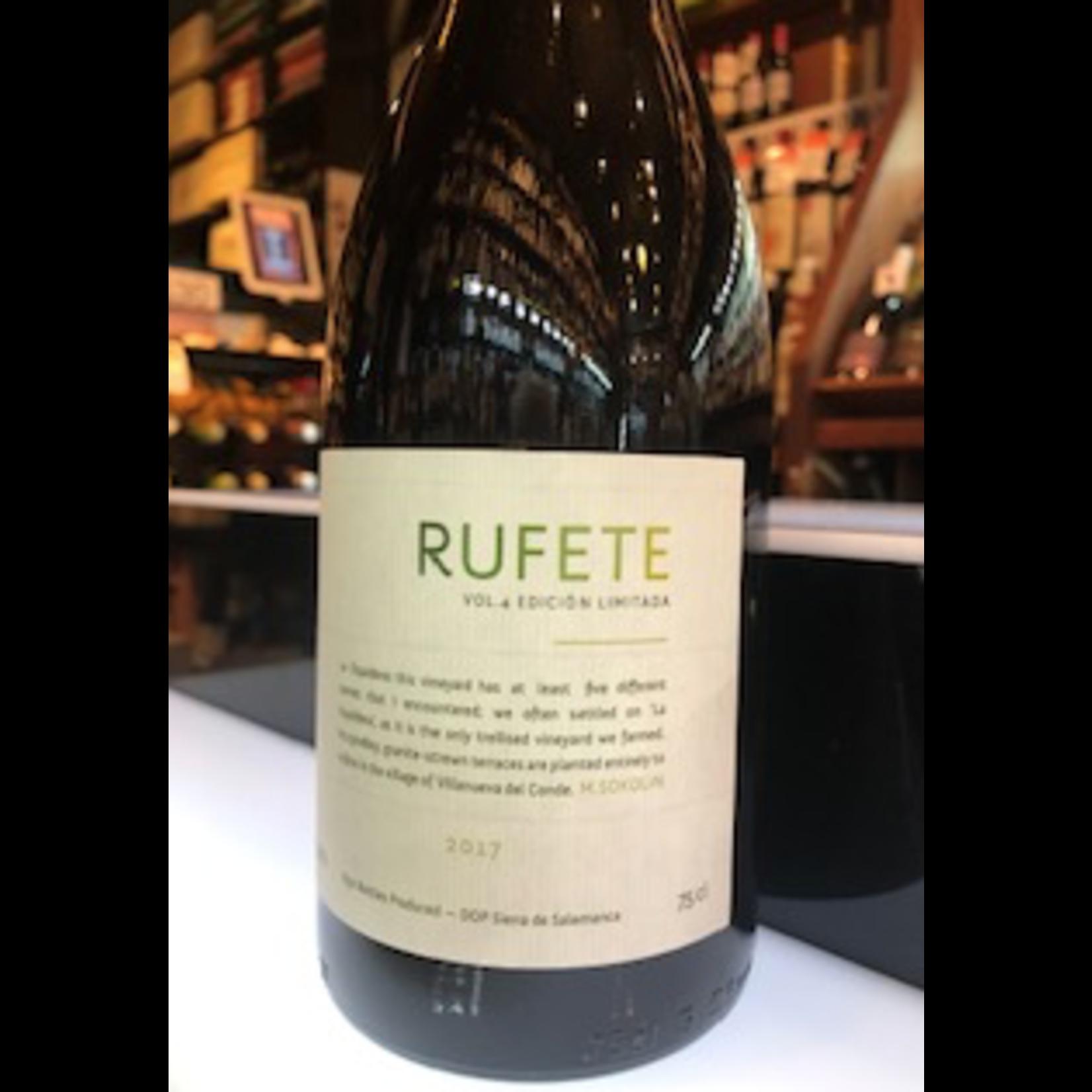 Wine Rufete M Sokolin Sierra de Salamanca Vol 4 Edicion Limitada 2017