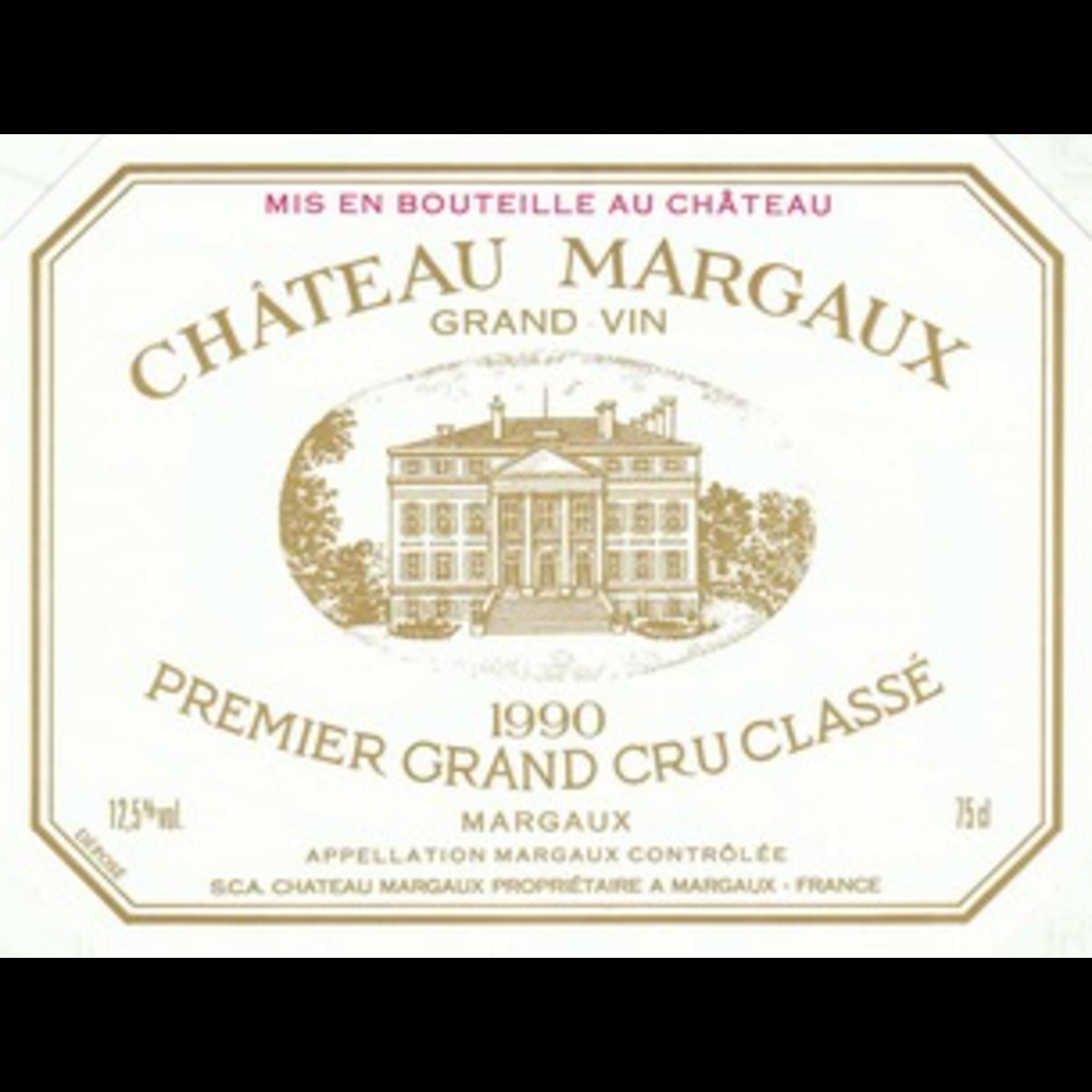 Wine Chateau Margaux 1990