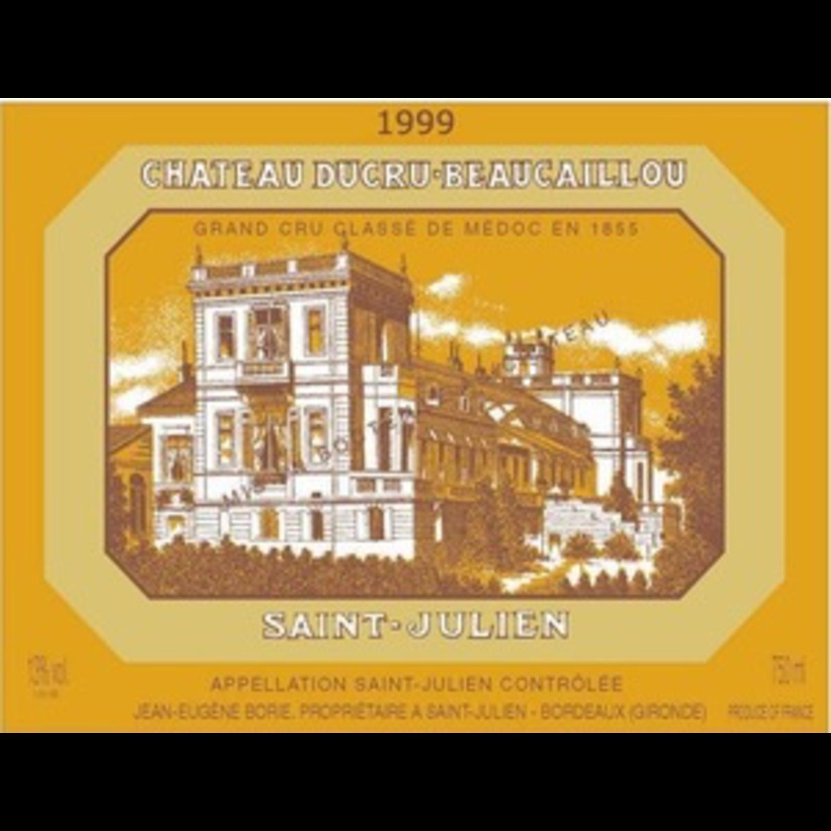 Wine Chateau Ducru Beaucaillou 1999 6L