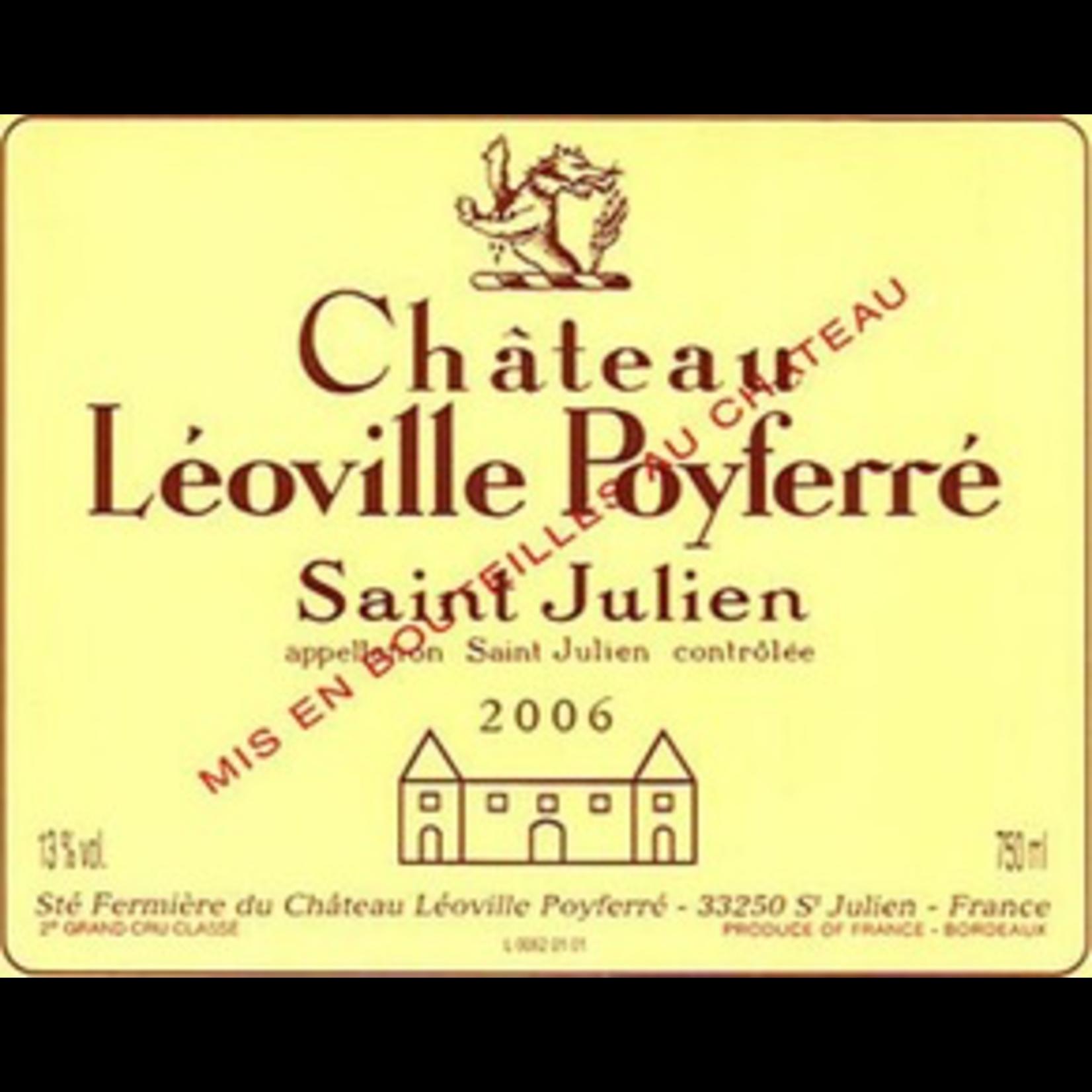 Wine Chateau Leoville Poyferre 2006
