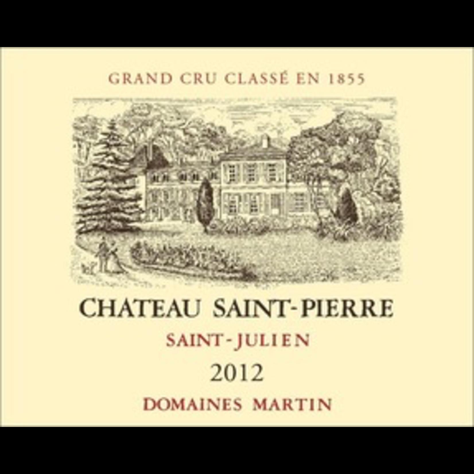 Wine Chateau Saint Pierre 2012
