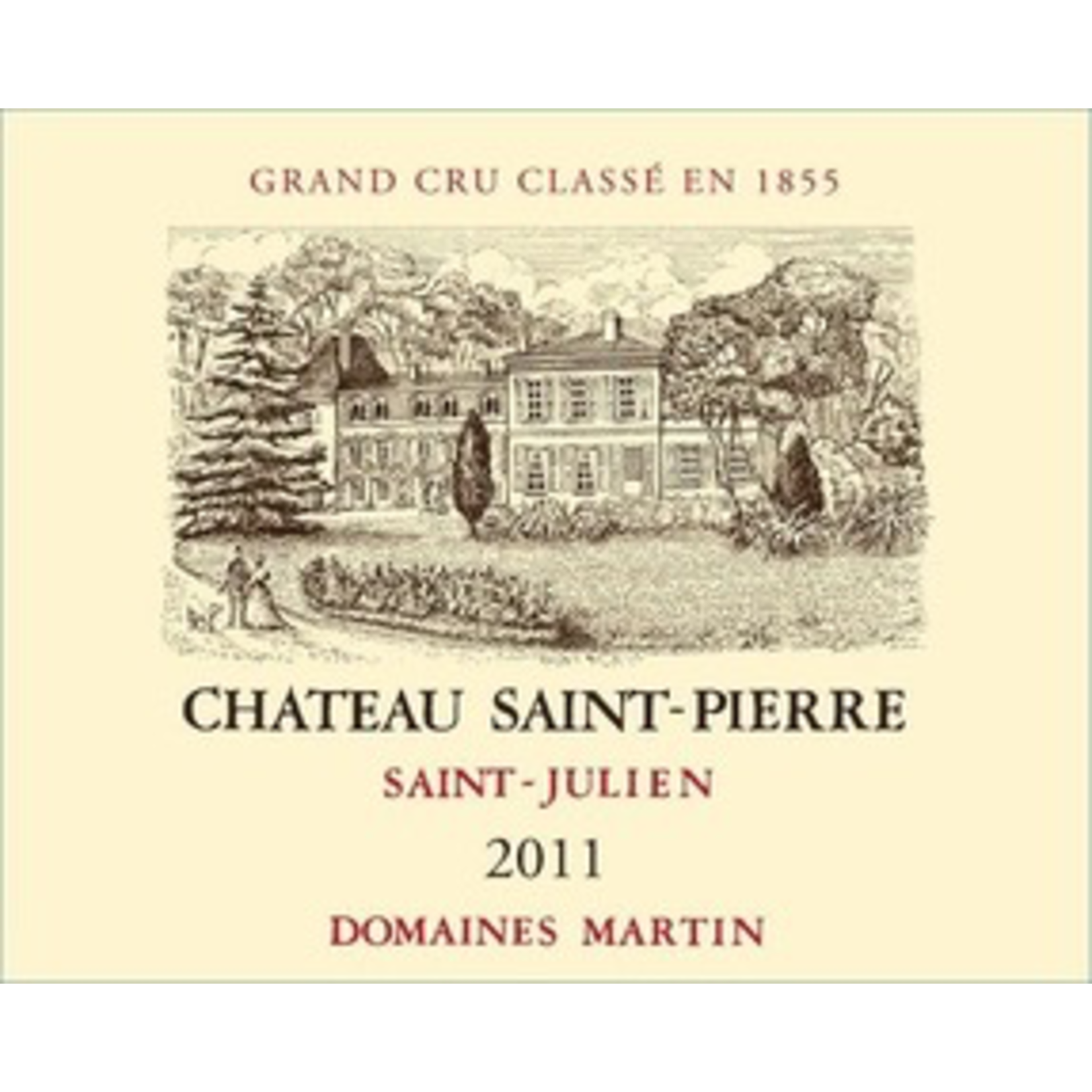Wine Chateau Saint Pierre 2004