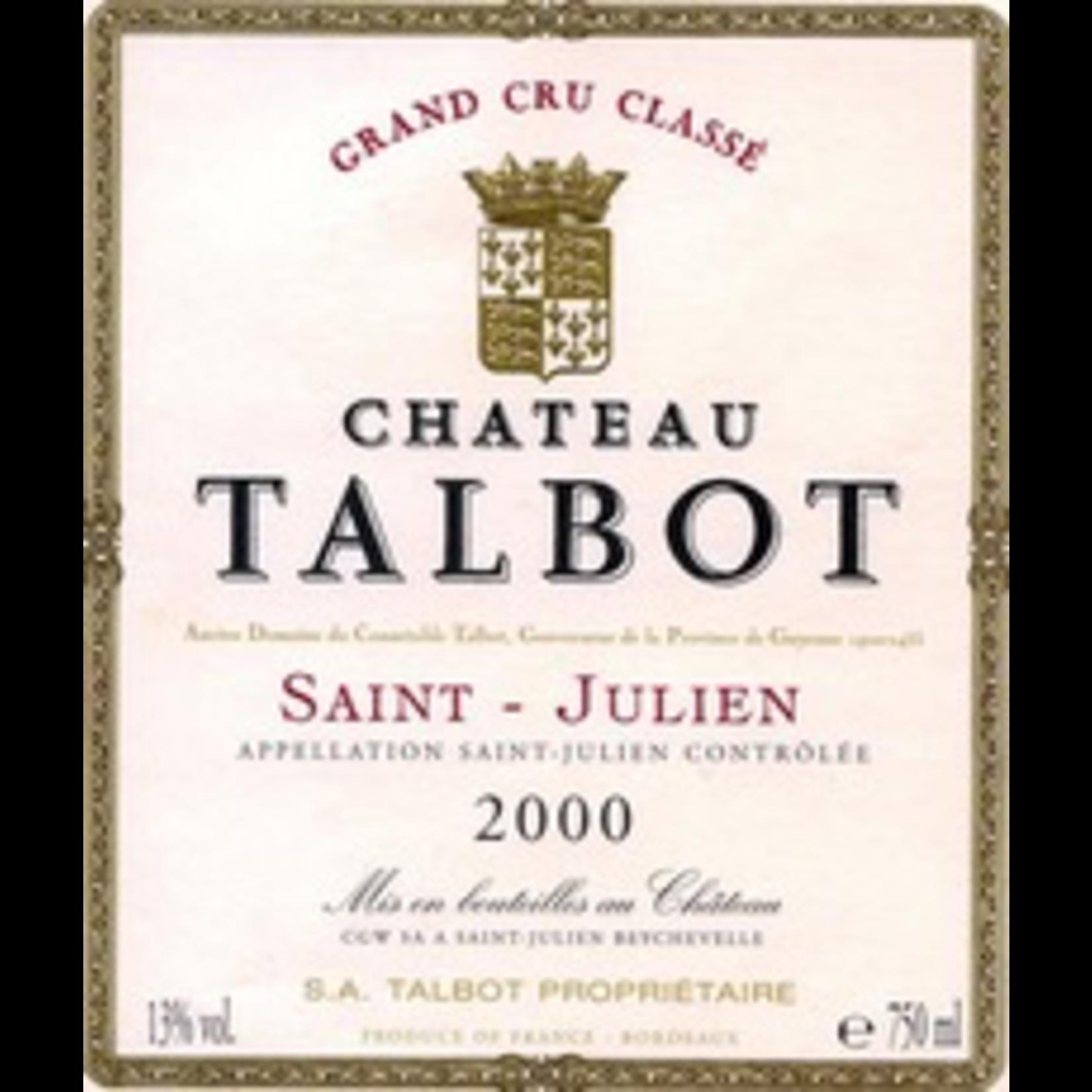 Wine Chateau Talbot 1998