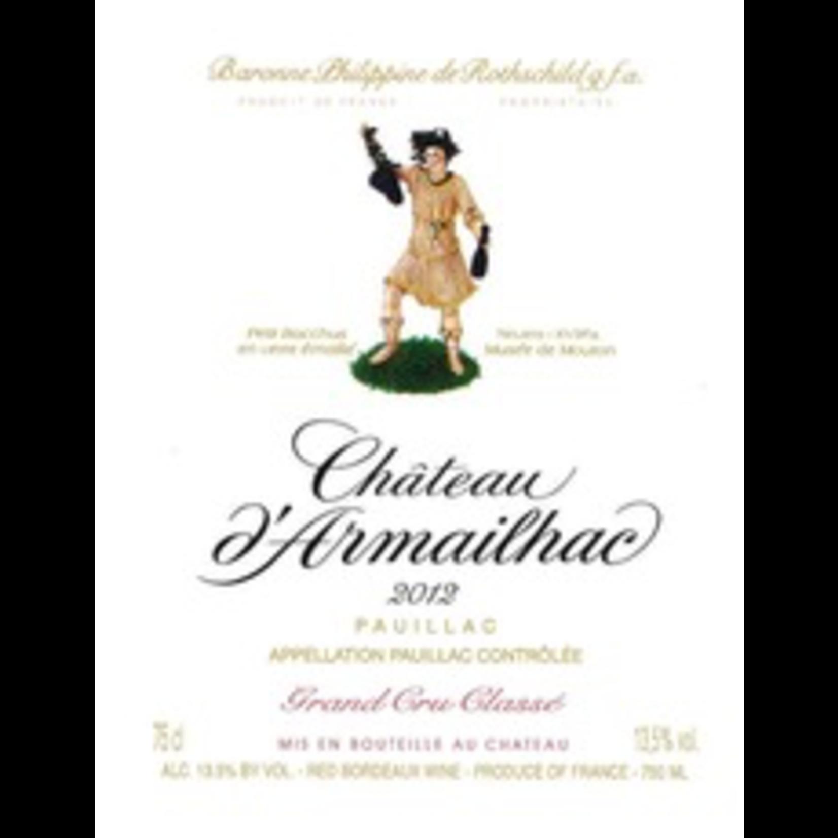 Wine Chateau d'Armailhac 2012