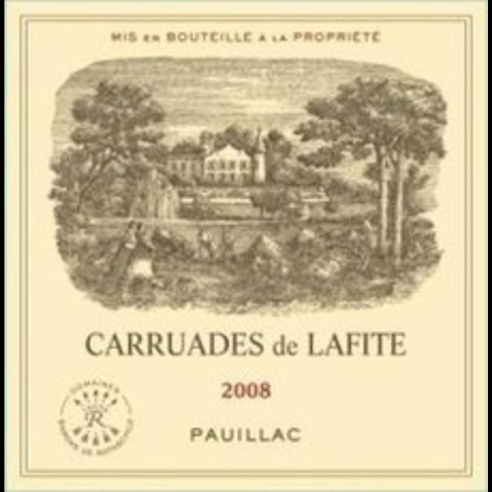 Wine Carruades de Lafite 2008