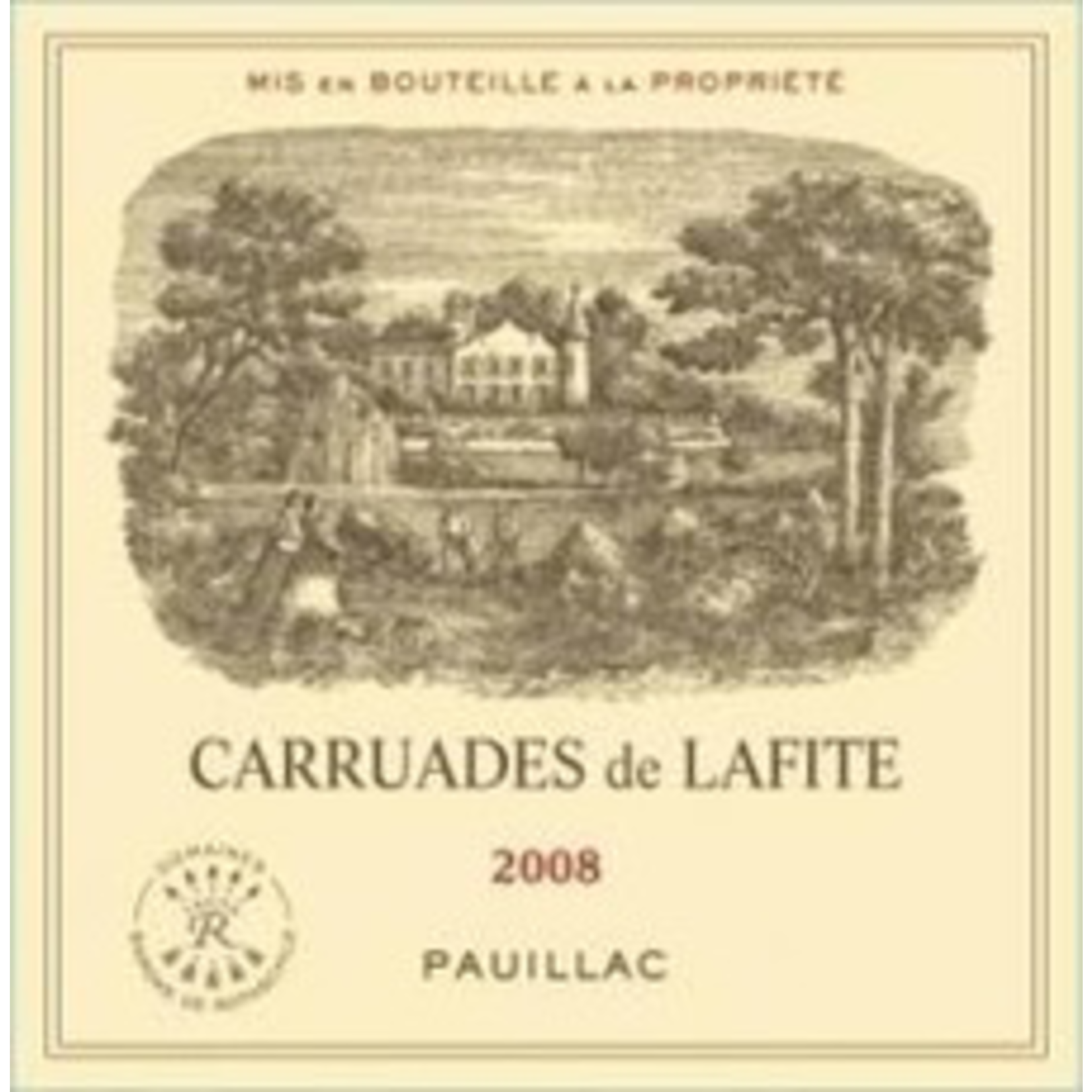 Wine Chateau Carruades de Lafite 2008