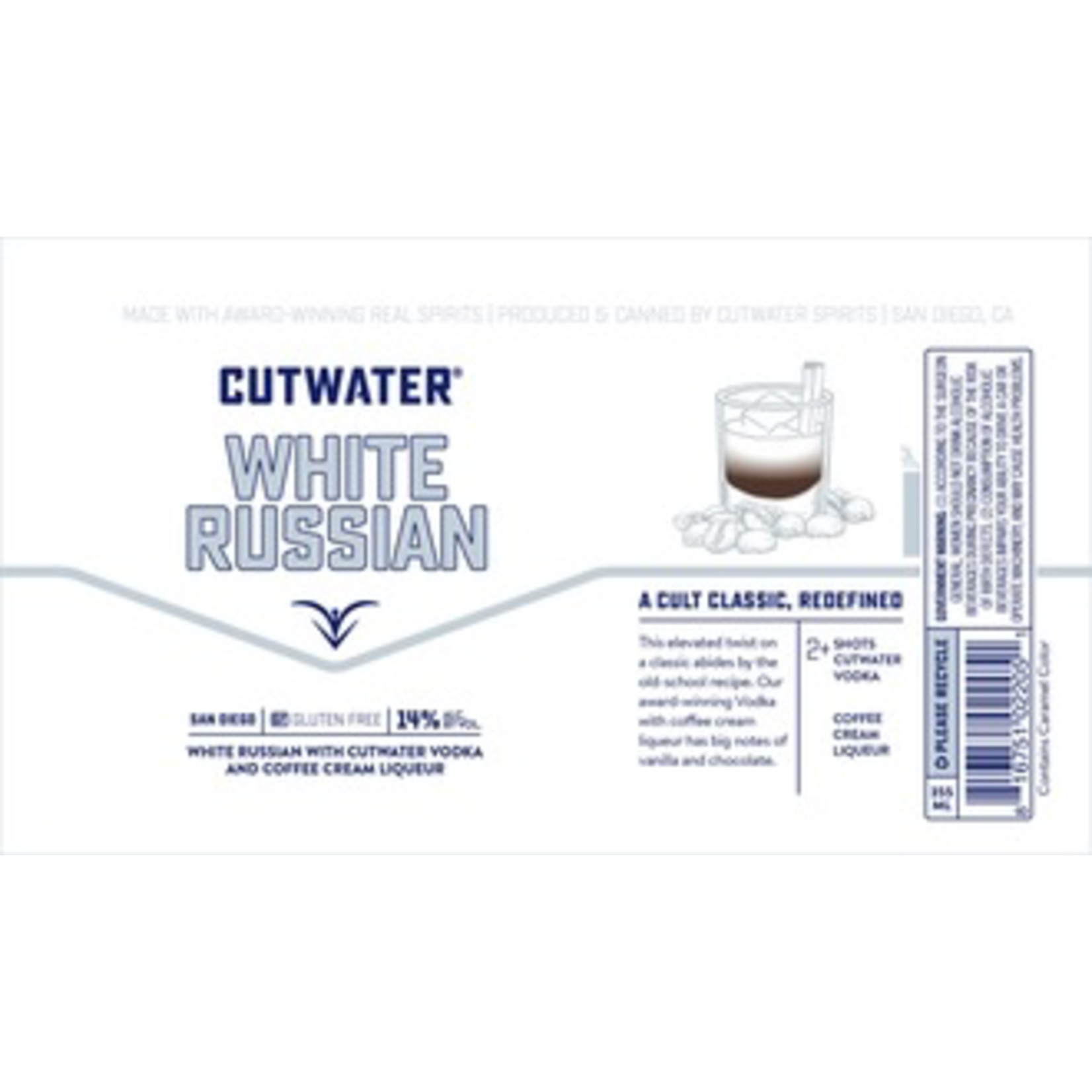 Cutwater White Russian Can 355ml