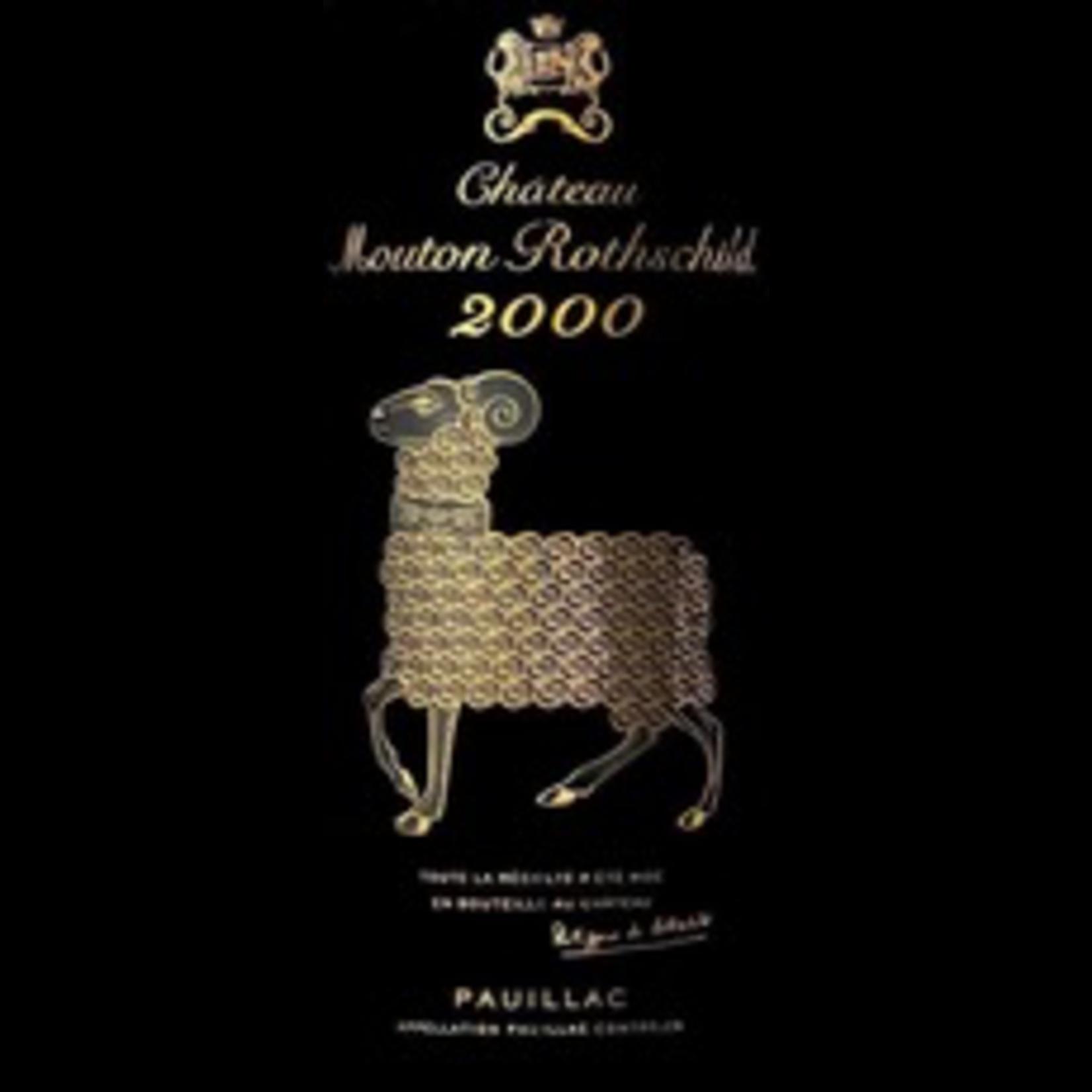 Wine Chateau Mouton Rothschild 2000 3L