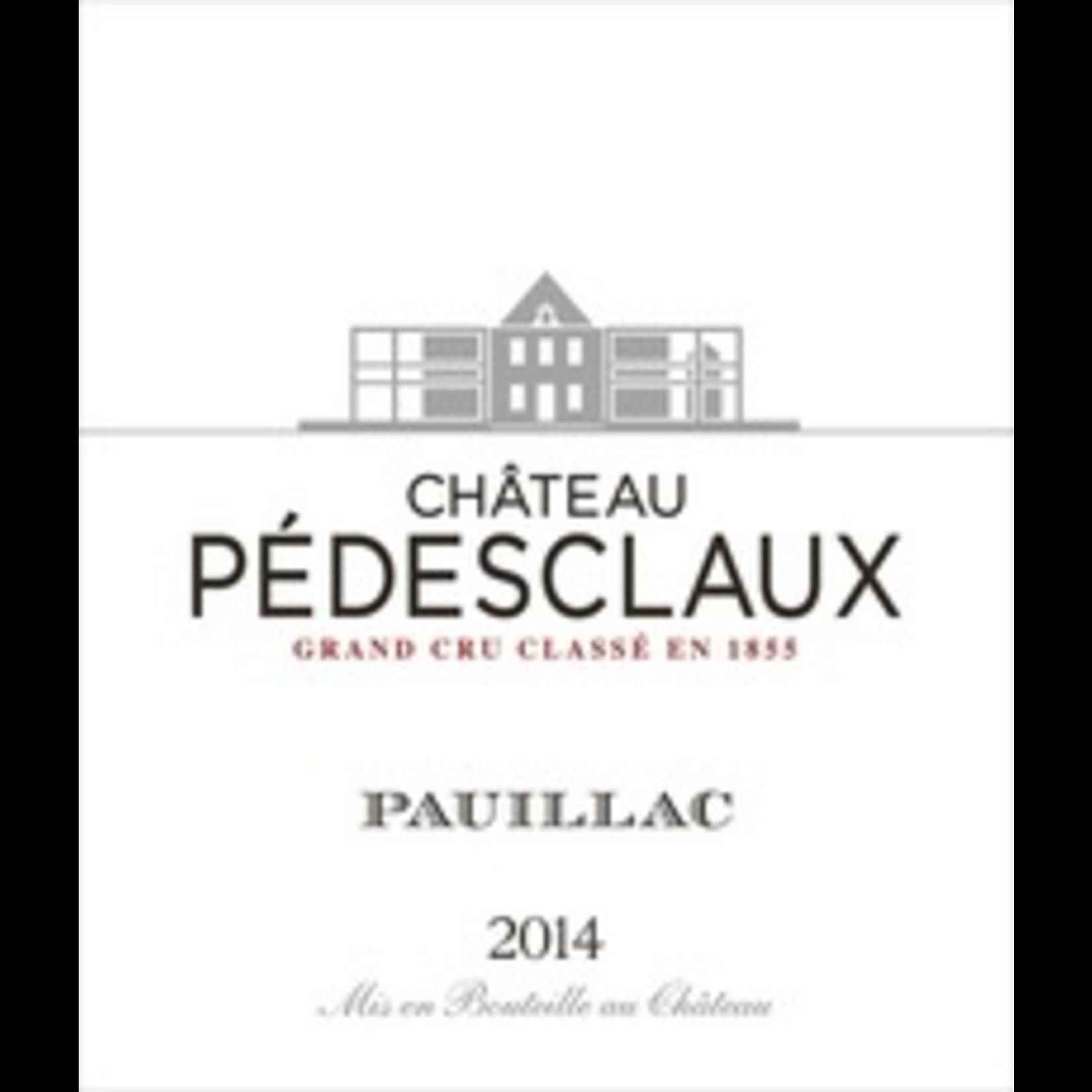 Wine Chateau Pedesclaux 2014