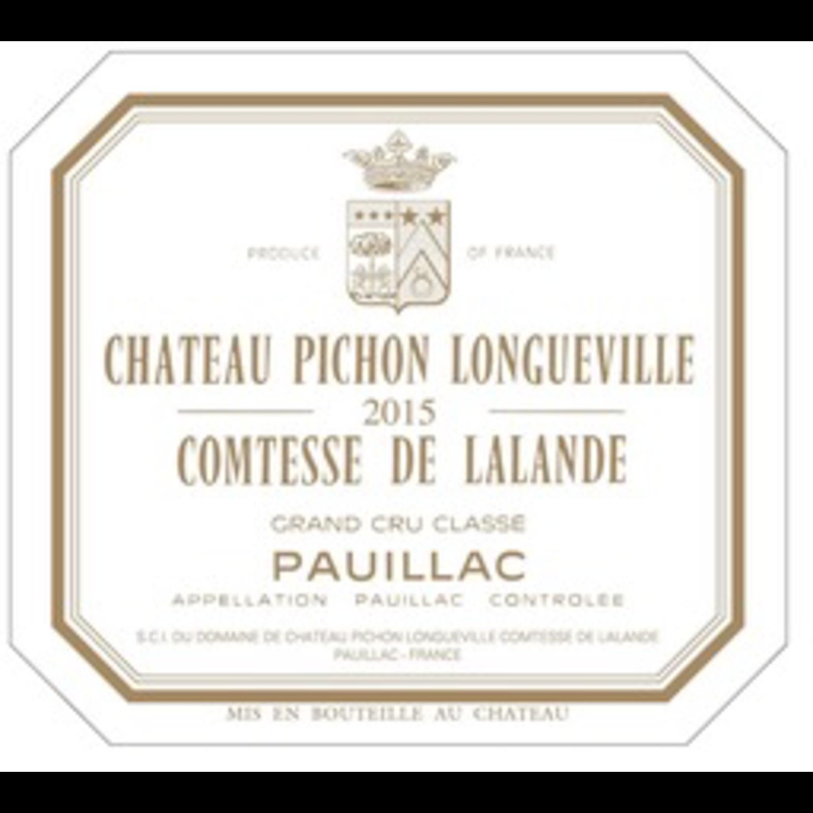 Wine Chateau Pichon Longueville Comtesse de Lalande 2009