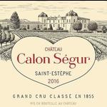 Wine Chateau Calon Segur 2015