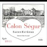 Wine Chateau Calon Segur 2011