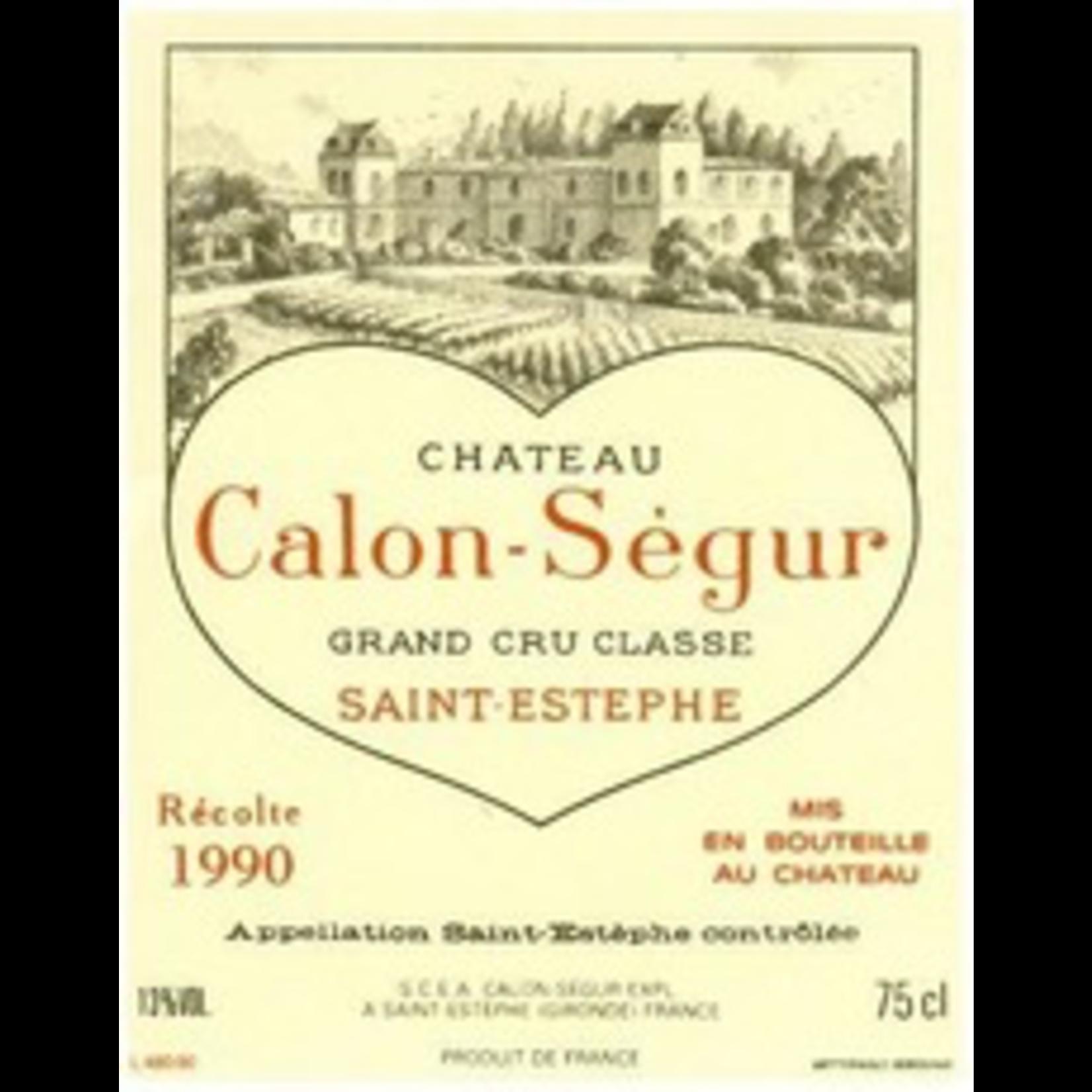 Wine Chateau Calon Segur 1990