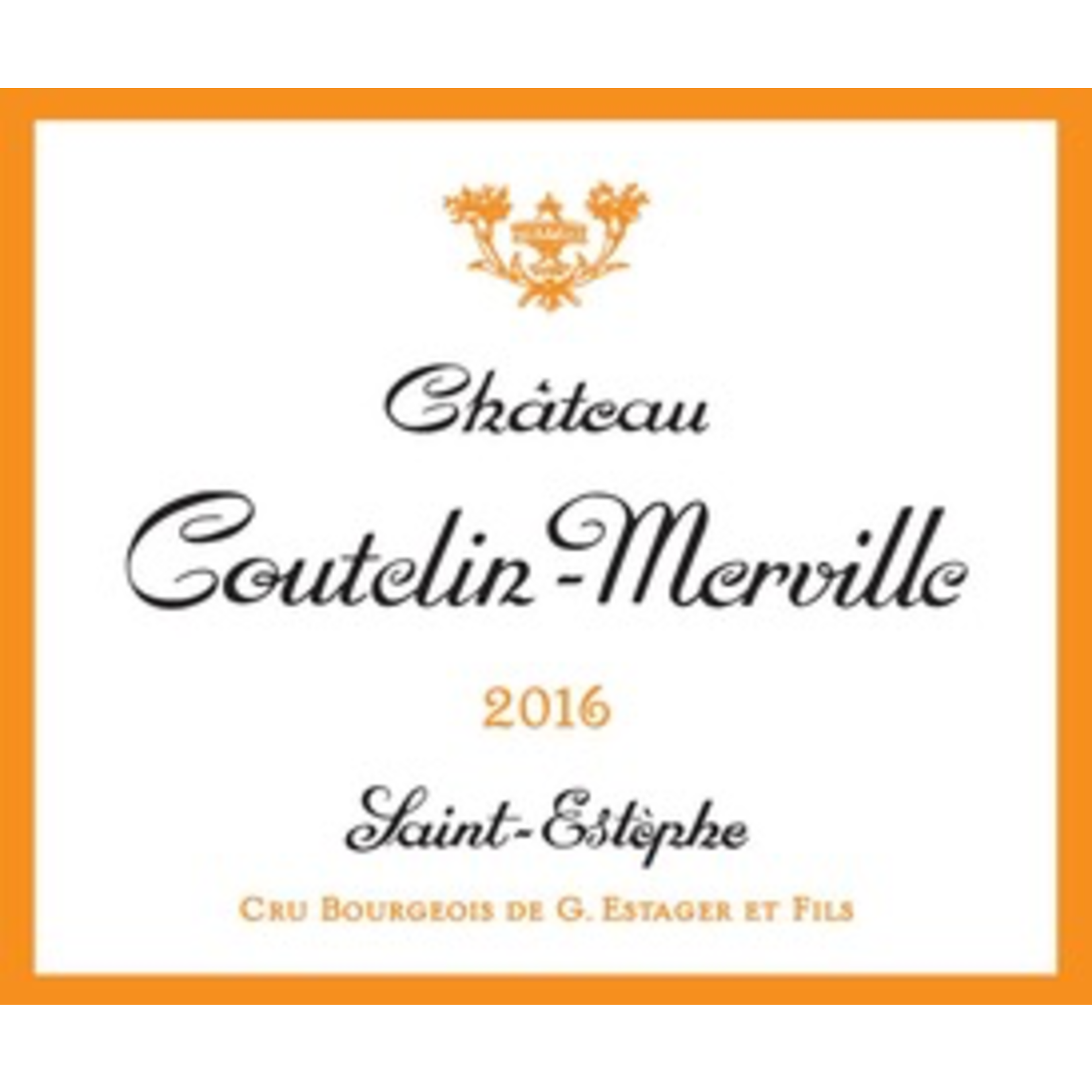 Wine Chateau Coutelin Merville 2016
