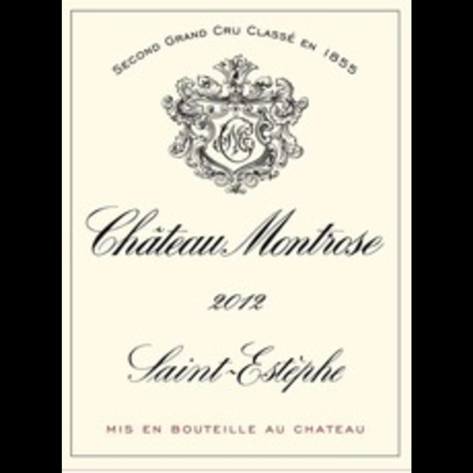Wine Chateau Montrose 2012